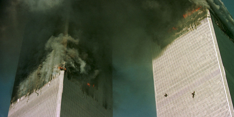 GettyImages-1352022 World Trade Center Attacked By Terrorists