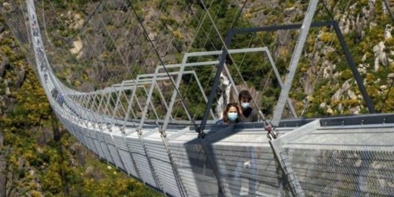 Arouca bridge - feature