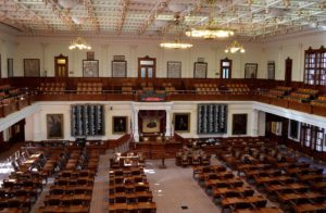 Empty chamber Texas lawmakers